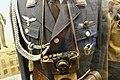 WW2 Norway. Leica camera 18X24 Nr. 357272 III-SS3 SS- runes Reichsadler leather case, Luftwaffe uniform aiguillette, Brüstadler Gold grade reconnaissance clasp Pilot's badge. Lofoten Krigeminnemuseum 2019 DSC00067.jpg