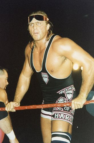 Owen Hart - Owen adorned his attire with the nickname The King of Harts after winning the 1994 King of the Ring
