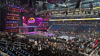 WWE 205 Live - 205 Live set in the Allstate Arena.