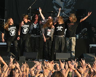 Destruction (band) - Image: Wacken 2007 Destruction by Caroline Lauder LOUDER IMAGES 258