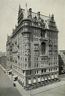Former hotel in Manhattan, New York City