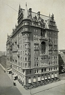 Waldorf Hotel 1893