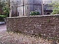 Wall at Knockbrex Castle - geograph.org.uk - 1444855.jpg