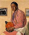 Walter Ufer - Portrait of a Man with a Pumpkin (Museum of Fine Arts, Houston).jpg