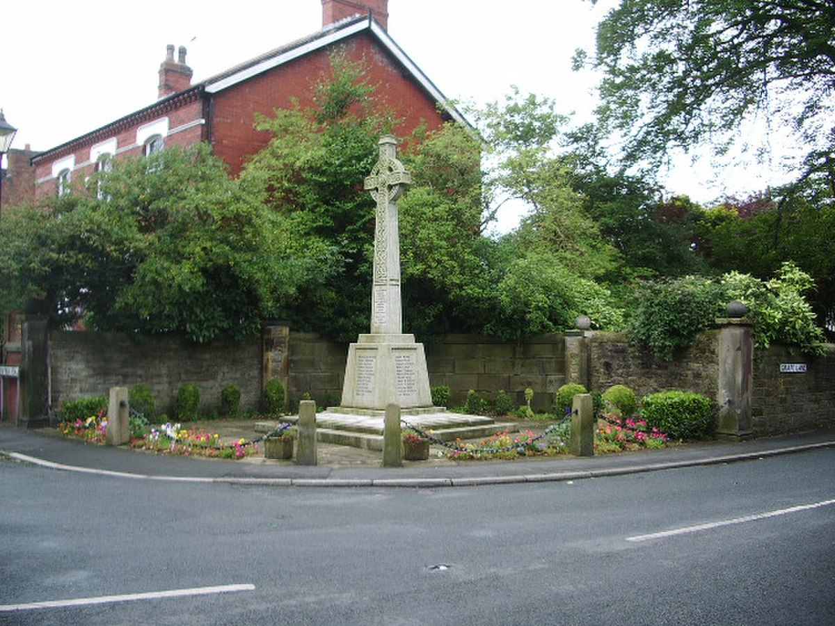 War Memorial, Croston - geograph.org.uk - 940452.jpg