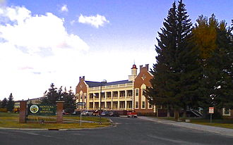 Deer Lodge County, Montana - Warm Springs State Hospital