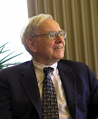top half of Warren Buffet