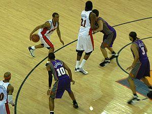 Monta Ellis - Ellis in action against the Phoenix Suns on March 15, 2009