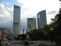 Centrum finansowe Warszawy