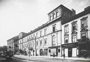 Kossakowski - Image: Warszawa Palac Kossakowskich 1922 Kościesza Jaworski