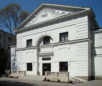 Warsaw Chamber Opera - Theatre of the Warsaw Chamber Opera, built 1777 as first Calvinist chapel in Warsaw.