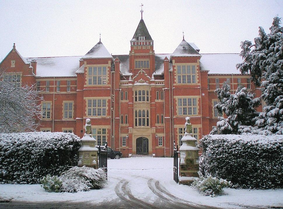 Warwick School front