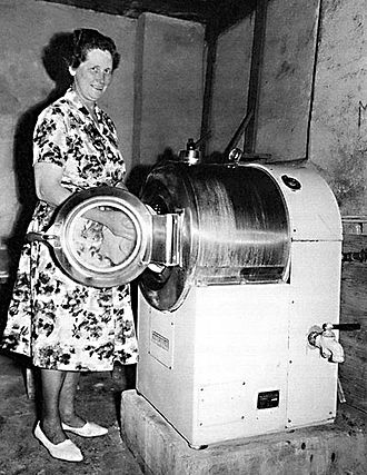 Home appliance - Swedish washing machine, 1950s
