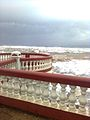 Waves hitting the Agustin Ross Balcony, June 2011.jpg