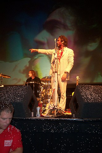Wayne Coyne - Wayne Coyne in Brighton Centre, UK in 2003