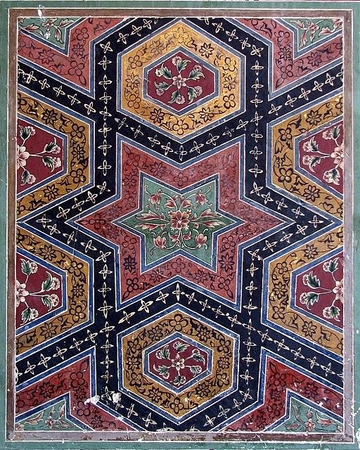Wazir khan mosque, tile art1