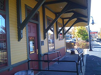 West Concord Depot - Image: Wconcord 5