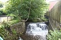 Weir on Butts Beck, Barnoldswick - geograph.org.uk - 494964.jpg
