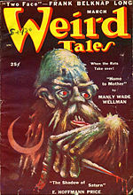 Weird Tales cover image for March 1950