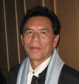 Wes Studi - Studi at the Smithsonian National Museum of the American Indian on December 7, 2008