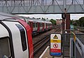 West Hampstead tube station MMB 01 S Stock 1996 Stock.jpg