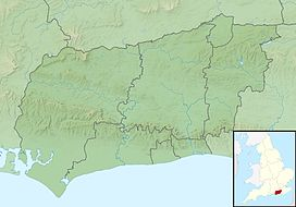 Blackdown is located in West Sussex