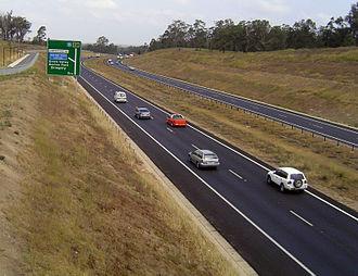 Road transport in Australia - Westlink M7, Western Sydney