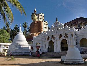 Matara, Sri Lanka - Wewurukannala Viharaya, Sri Lanka