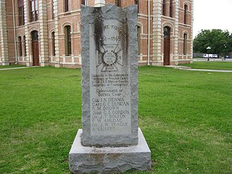 Wharton, Texas - Confederate monument