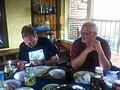 What Geeks Do At Diner (6072036716).jpg