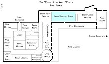White House Briefing Room Assigned Seating Chart