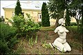 White woman next to Bruknas manor - panoramio.jpg