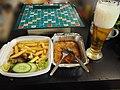 Wiener Schnitzel, Staropramen and Scrabble.jpg