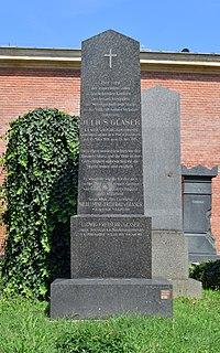 Wiener Zentralfriedhof - Gruppe 31 A - Julius Glaser.jpg
