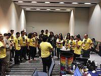 Wikimania 2015-Wednesday-Volunteers at Wikimania (18).jpg