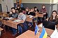 Wikimarathon 2020 in Sievierodonetsk (Secondary School No.5) 3.jpg