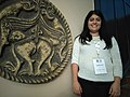 Wikipedian in residence Teodora Lukić at Institute for the Protection of Cultural Monuments of Serbia 06.jpg