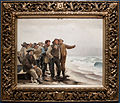Will he round the point, by Michael Ancher, with frame.jpg