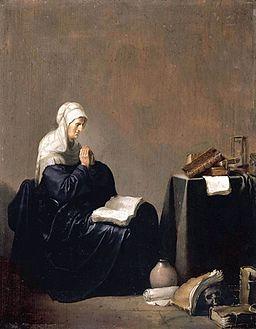 Willem de Poorter - A Woman Praying - WGA18150