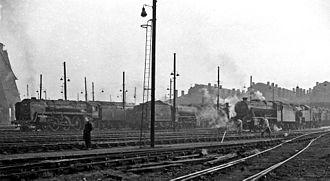 Willesden Junction station - The original motive power depot in 1962