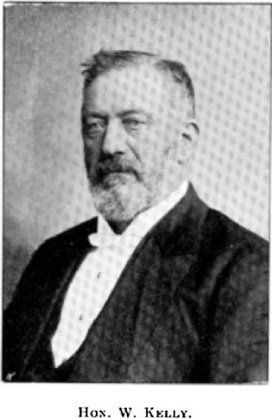 William Kelly (New Zealand politician) - Image: William Kelly (Cyclopedia of New Zealand) NZETC