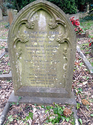 William Henry Perkin - Perkin's Gravestone