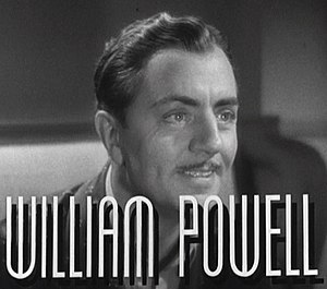 After the Thin Man - Image: William Powell in After the Thin Man trailer
