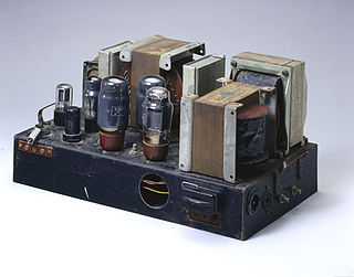 Williamson amplifier A classic 1947 design of a low-distortion push-pull tube amplifier