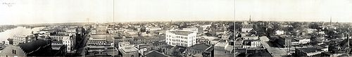 1918 panorama of Wilmington