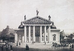 The Cathedral of Vilnius (1783), by Laurynas Gucevičius.