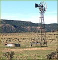 Windmill and Tank, Ludlow, CO 7-29-13a (11386957966).jpg