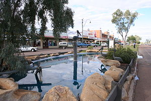 Winton, Queensland - Main street of Winton