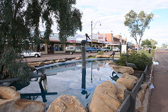 Winton, Queensland - Main street of Winton