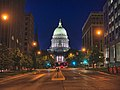 Wisconsin State Capitol At Night (136024923).jpeg
